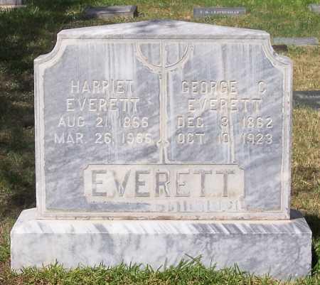 EVERETT, HARRIET - Santa Cruz County, Arizona | HARRIET EVERETT - Arizona Gravestone Photos