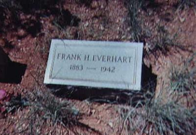 EVERHART, FRANK H. - Santa Cruz County, Arizona | FRANK H. EVERHART - Arizona Gravestone Photos