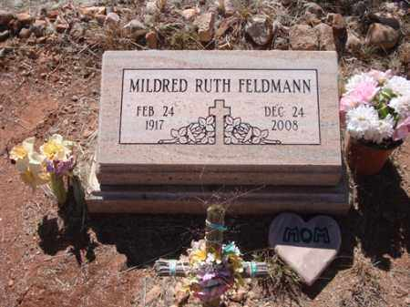 SCOTT FELDMANN, MILDRED RUTH - Santa Cruz County, Arizona | MILDRED RUTH SCOTT FELDMANN - Arizona Gravestone Photos