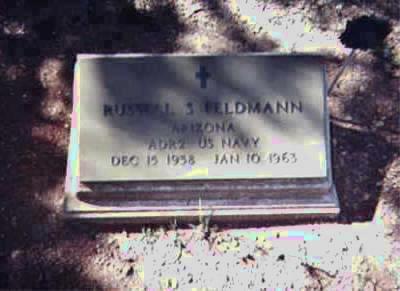 FELDMANN, RUSSELL S. - Santa Cruz County, Arizona | RUSSELL S. FELDMANN - Arizona Gravestone Photos