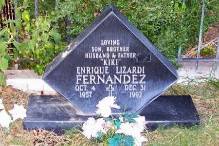 FERNANDEZ, ENIQUE LIZARDI - Santa Cruz County, Arizona   ENIQUE LIZARDI FERNANDEZ - Arizona Gravestone Photos