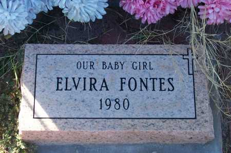 FONTES, ELVIRA - Santa Cruz County, Arizona | ELVIRA FONTES - Arizona Gravestone Photos