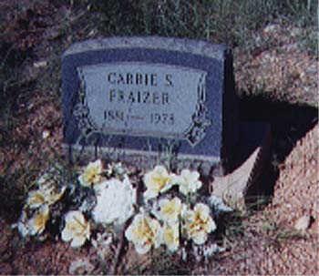 FRAZIER, CARRIE S. - Santa Cruz County, Arizona | CARRIE S. FRAZIER - Arizona Gravestone Photos