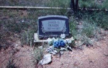FRAZIER, JAMES G. - Santa Cruz County, Arizona | JAMES G. FRAZIER - Arizona Gravestone Photos