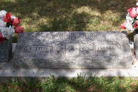 "GALINDO, G. E.  ""LITO"" - Santa Cruz County, Arizona | G. E.  ""LITO"" GALINDO - Arizona Gravestone Photos"