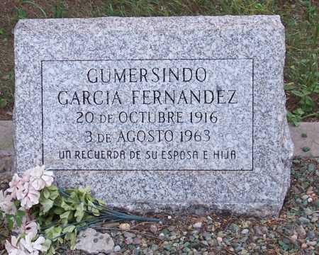 GARCIA FERNANDEZ, GUMERSINDO - Santa Cruz County, Arizona | GUMERSINDO GARCIA FERNANDEZ - Arizona Gravestone Photos