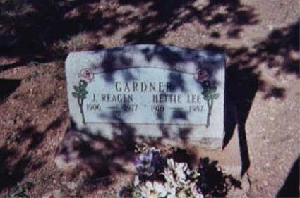 GARDNER, J. REAGAN - Santa Cruz County, Arizona | J. REAGAN GARDNER - Arizona Gravestone Photos