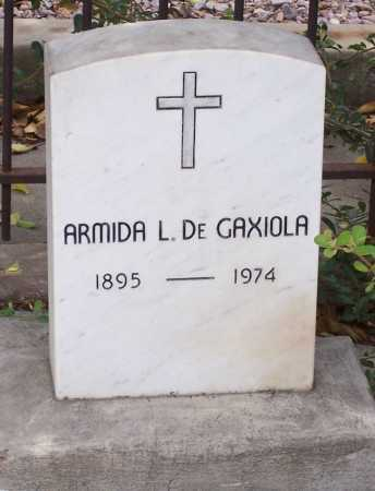GAXIOLA, DE, ARMIDA L. - Santa Cruz County, Arizona | ARMIDA L. GAXIOLA, DE - Arizona Gravestone Photos