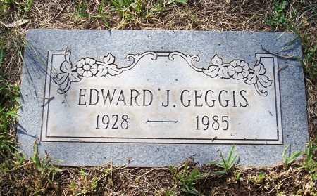 GEGGIS, EDWARD J. - Santa Cruz County, Arizona | EDWARD J. GEGGIS - Arizona Gravestone Photos