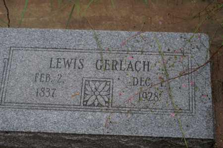 GERLACH, LEWIS - Santa Cruz County, Arizona   LEWIS GERLACH - Arizona Gravestone Photos