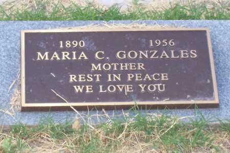 GONZALES, MARIA C. - Santa Cruz County, Arizona | MARIA C. GONZALES - Arizona Gravestone Photos