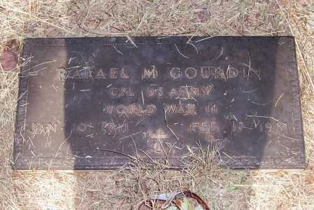 GOURDIN, RAFAEL M. - Santa Cruz County, Arizona | RAFAEL M. GOURDIN - Arizona Gravestone Photos