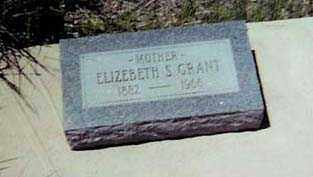 GRANT, ELIZABETH S. - Santa Cruz County, Arizona | ELIZABETH S. GRANT - Arizona Gravestone Photos