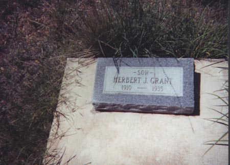 GRANT, HERBERT J. - Santa Cruz County, Arizona   HERBERT J. GRANT - Arizona Gravestone Photos