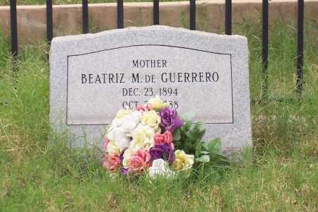 GUERRERO, DE, BEATRIZ M. - Santa Cruz County, Arizona   BEATRIZ M. GUERRERO, DE - Arizona Gravestone Photos