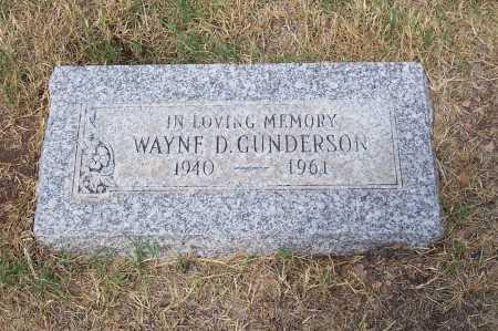 GUNDERSON, WAYNE D. - Santa Cruz County, Arizona | WAYNE D. GUNDERSON - Arizona Gravestone Photos