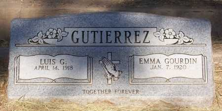 GUTIEREZ, EMMA - Santa Cruz County, Arizona | EMMA GUTIEREZ - Arizona Gravestone Photos