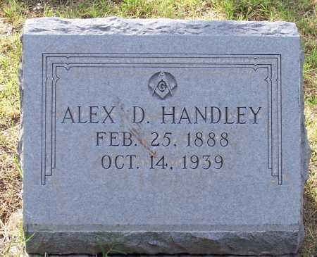 HANDLEY, ALEX D. - Santa Cruz County, Arizona   ALEX D. HANDLEY - Arizona Gravestone Photos