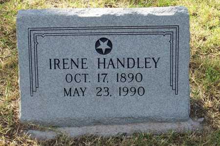 HANDLEY, IRENE - Santa Cruz County, Arizona | IRENE HANDLEY - Arizona Gravestone Photos