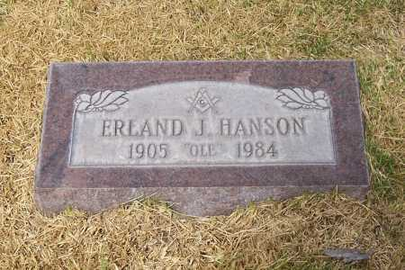 HANSON, ERLAND J - Santa Cruz County, Arizona | ERLAND J HANSON - Arizona Gravestone Photos