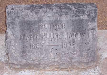 BOONE HARDY, MINNIE - Santa Cruz County, Arizona | MINNIE BOONE HARDY - Arizona Gravestone Photos