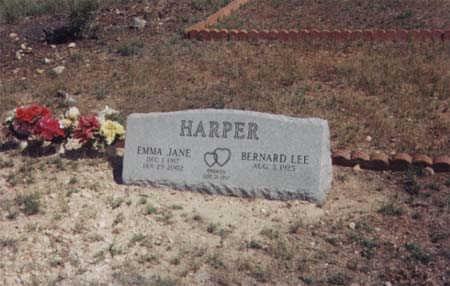 HARPER, EMMA JANE - Santa Cruz County, Arizona   EMMA JANE HARPER - Arizona Gravestone Photos