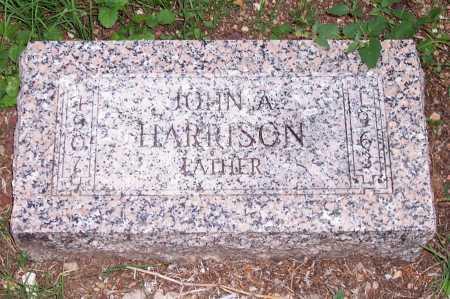 HARRISON, JOHN A. - Santa Cruz County, Arizona | JOHN A. HARRISON - Arizona Gravestone Photos