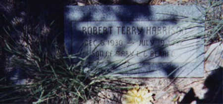 HARRISON, ROBERT TERRY - Santa Cruz County, Arizona | ROBERT TERRY HARRISON - Arizona Gravestone Photos