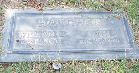 HATCHER, WILLIAM E. - Santa Cruz County, Arizona | WILLIAM E. HATCHER - Arizona Gravestone Photos