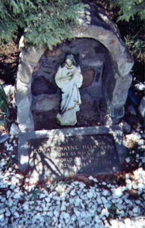 HEINRITZ, EDGAR WAYNE - Santa Cruz County, Arizona | EDGAR WAYNE HEINRITZ - Arizona Gravestone Photos