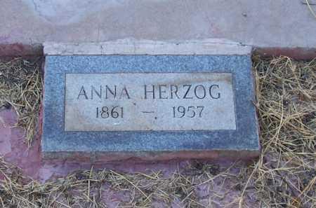 HERZOG, ANNA - Santa Cruz County, Arizona   ANNA HERZOG - Arizona Gravestone Photos