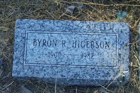 HIGERSON, BYRON R. - Santa Cruz County, Arizona | BYRON R. HIGERSON - Arizona Gravestone Photos