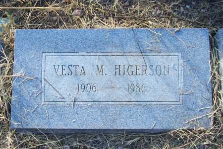 HIGERSON, VESTA M. - Santa Cruz County, Arizona | VESTA M. HIGERSON - Arizona Gravestone Photos