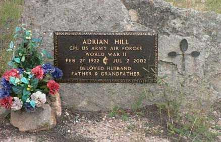 HILL, ADRIAN - Santa Cruz County, Arizona | ADRIAN HILL - Arizona Gravestone Photos