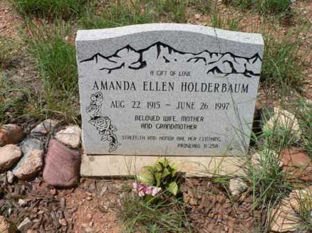 HOLDERBAUM, AMANDA ELLEN - Santa Cruz County, Arizona   AMANDA ELLEN HOLDERBAUM - Arizona Gravestone Photos