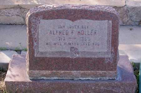HOLLER, ALFRED F. - Santa Cruz County, Arizona   ALFRED F. HOLLER - Arizona Gravestone Photos
