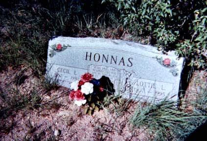 HONNAS, LOTTIE - Santa Cruz County, Arizona | LOTTIE HONNAS - Arizona Gravestone Photos