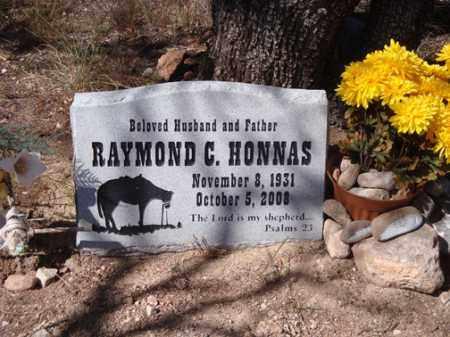 HONNAS, RAYMOND C. - Santa Cruz County, Arizona | RAYMOND C. HONNAS - Arizona Gravestone Photos