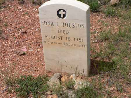 LAWTON HOUSTON, EDNA - Santa Cruz County, Arizona | EDNA LAWTON HOUSTON - Arizona Gravestone Photos
