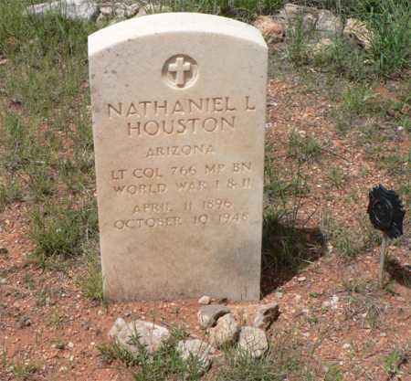 HOUSTON, NATHANIEL L. - Santa Cruz County, Arizona   NATHANIEL L. HOUSTON - Arizona Gravestone Photos