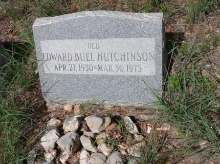 HUTCHINSON, EDWARD BUEL - Santa Cruz County, Arizona | EDWARD BUEL HUTCHINSON - Arizona Gravestone Photos