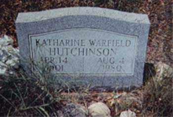 HUTCHINSON, KATHARINE - Santa Cruz County, Arizona | KATHARINE HUTCHINSON - Arizona Gravestone Photos
