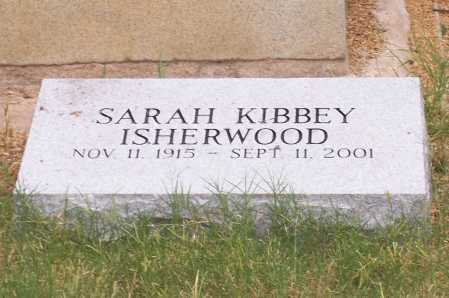 ISHERWOOD, SARAH - Santa Cruz County, Arizona | SARAH ISHERWOOD - Arizona Gravestone Photos