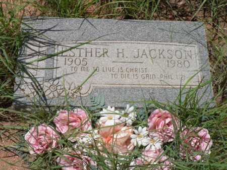 JACKSON, ESTHER  H. - Santa Cruz County, Arizona | ESTHER  H. JACKSON - Arizona Gravestone Photos