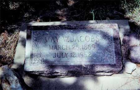 JACOBS, MAY W. - Santa Cruz County, Arizona | MAY W. JACOBS - Arizona Gravestone Photos