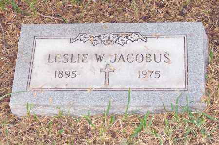 JACOBUS, LESLIE W. - Santa Cruz County, Arizona | LESLIE W. JACOBUS - Arizona Gravestone Photos