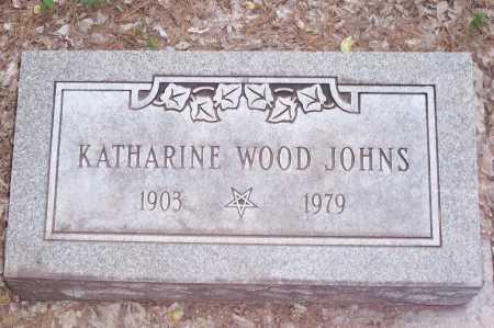 WOOD JOHNS, KATHARINE - Santa Cruz County, Arizona | KATHARINE WOOD JOHNS - Arizona Gravestone Photos