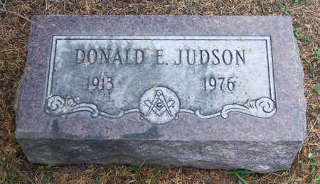 JUDSON, DONALD E. - Santa Cruz County, Arizona | DONALD E. JUDSON - Arizona Gravestone Photos
