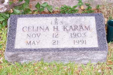 KARAM, CELINA H. - Santa Cruz County, Arizona | CELINA H. KARAM - Arizona Gravestone Photos