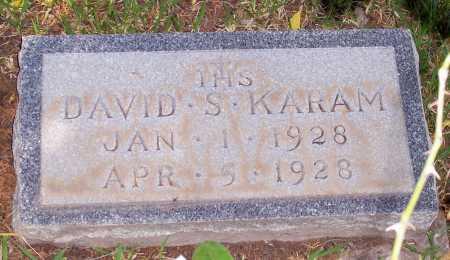 KARAM, DAVID - Santa Cruz County, Arizona | DAVID KARAM - Arizona Gravestone Photos